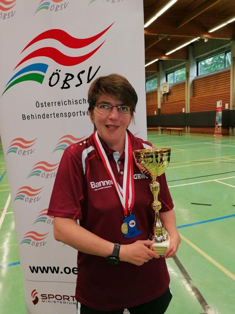 Martina Penz - ÖSBV Landesmeisterin 2021